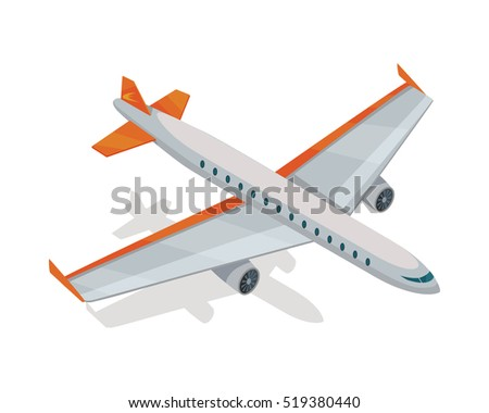 airplane isometric projection