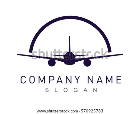 airplane logotype