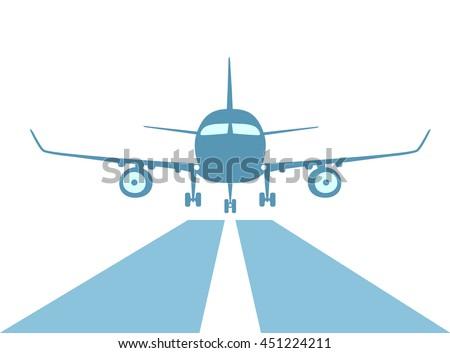 airplane make good landing with