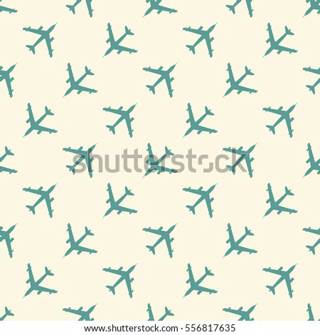 Airplane pattern. Endless illustration, image. Creative, luxury gradient style. Print card, cloth, clothing, wrap, wrapper, web, cover, label, banner, poster, greeting, invitation.