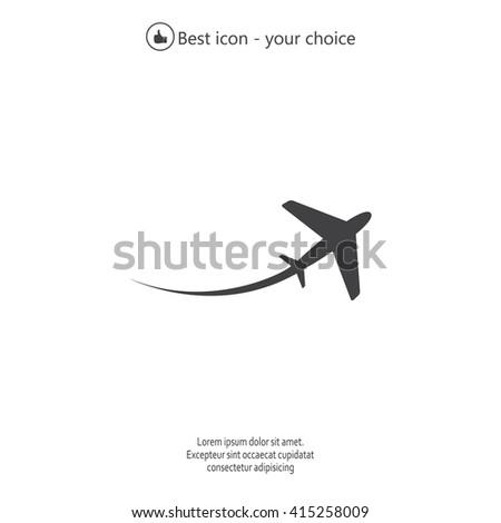 stock-vector-airplane-symbol