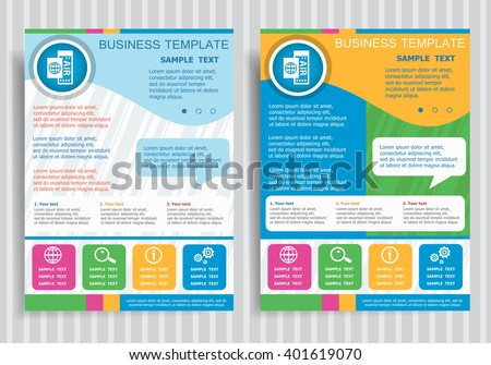 Airplane Ticket On Vector Brochure Flyer Design Layout Template – Ticket Size Template