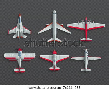 airplanes and military aircraft