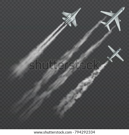 airplanes and military fighters