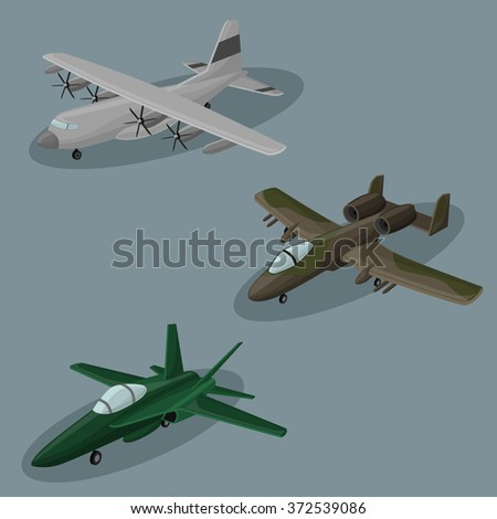 airplanes vector image design