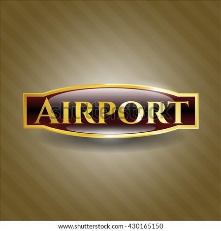 Airport gold badge