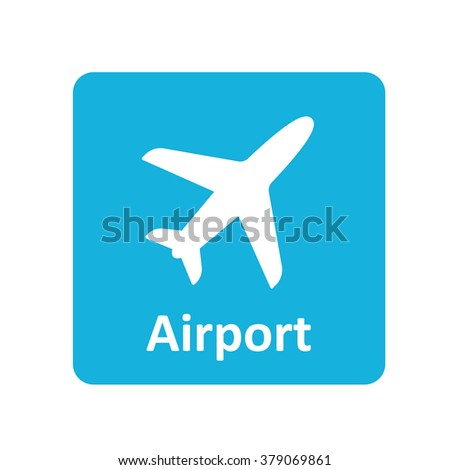 Airport icon for web and mobile