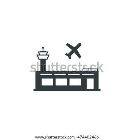 Airport icon, Vector