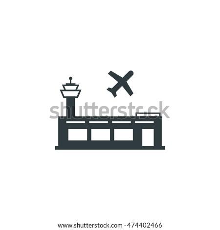 Airport icon, Vector