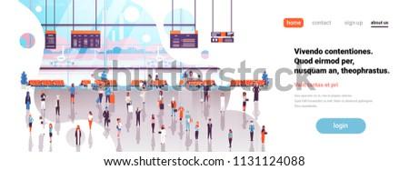 airport interior passengers
