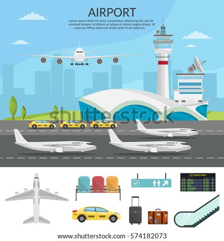 airport passenger terminal and