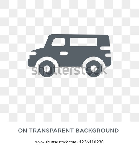 airport shuttle icon. airport shuttle design concept from Transportation collection. Simple element vector illustration on transparent background.