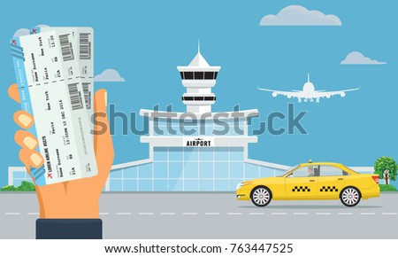 airport terminal building and