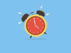 Alarm clock, wake-up time