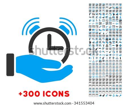 alarm service vector pictogram