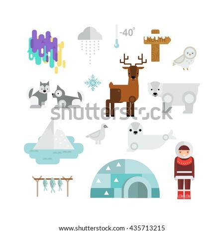 alaska state symbols map and