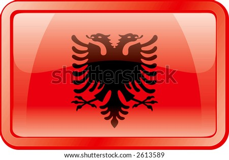 Albania Flag Double Headed Eagle Download Free Vector Art Stock - Albania flag
