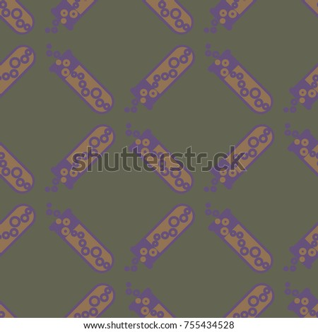 alchemy seamless pattern