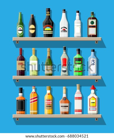 alcohol drinks collection