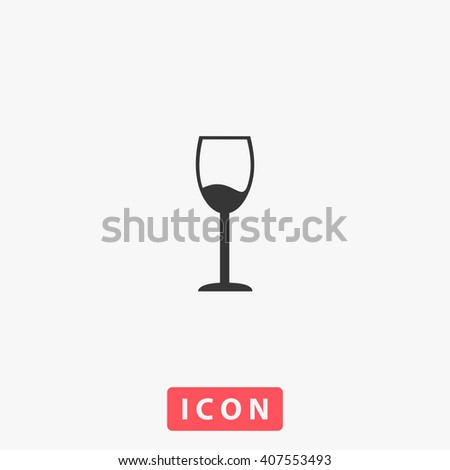 alcohol glass icon  alcohol