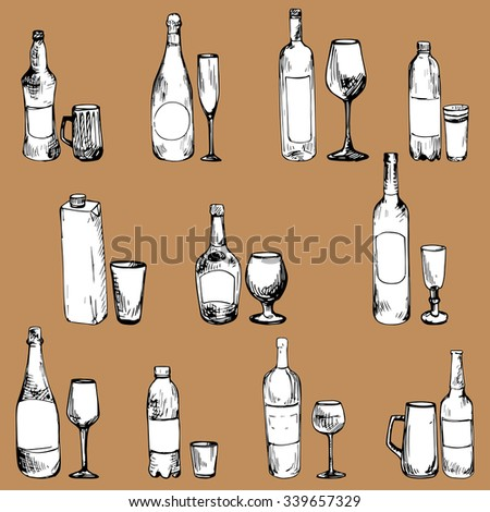 alcoholic and nonalcoholic