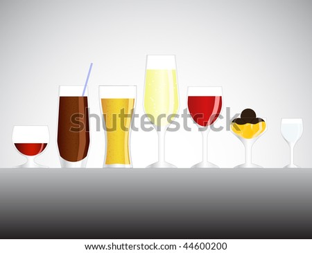Alcoholic cocktails
