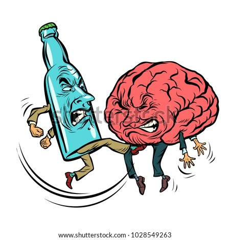 alcoholism destroys the brain