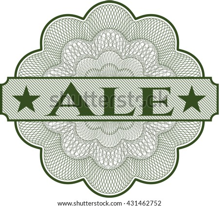 Ale abstract rosette