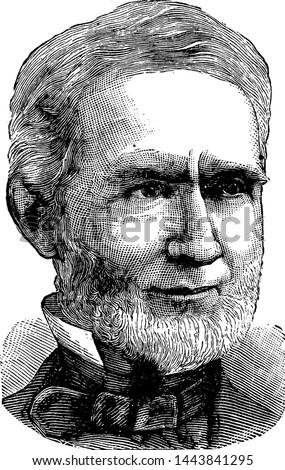 Alfred P. Edgerton, vintage illustration