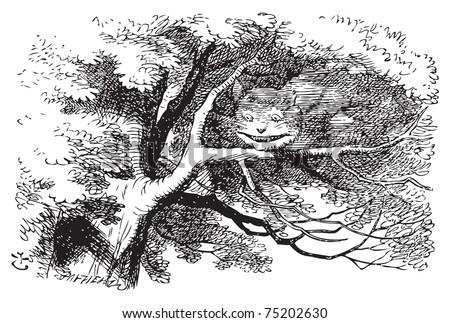 alice in wonderland cheshire