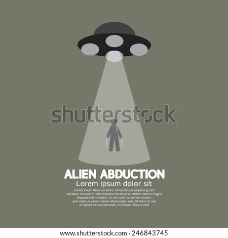 alien abduction with ufo