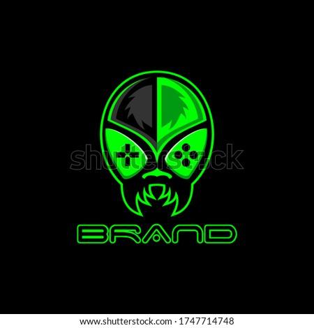 alien game e sport mascot