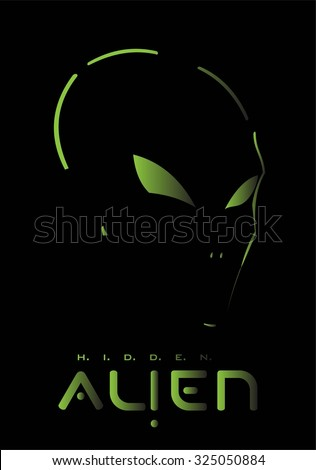 alien  hidden alien alien face