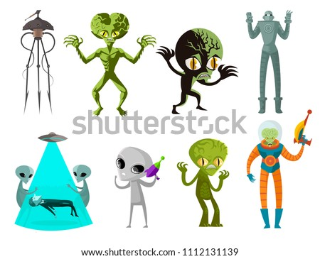 aliens creatures collection