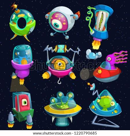 alines in spacecrafts set