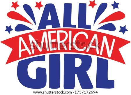 all american girl   4th of july