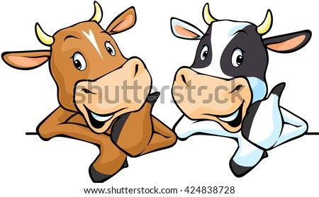 all cows recommend with thumb
