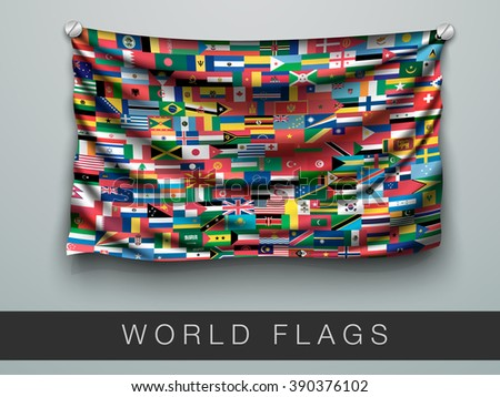 all flags of the world in one