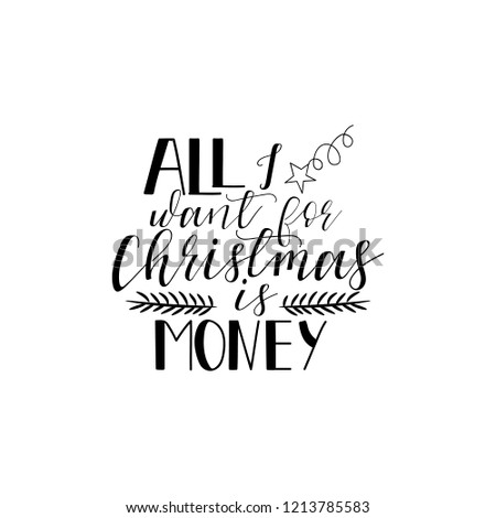 all i want for christms is