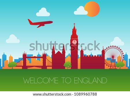 all landmark of england