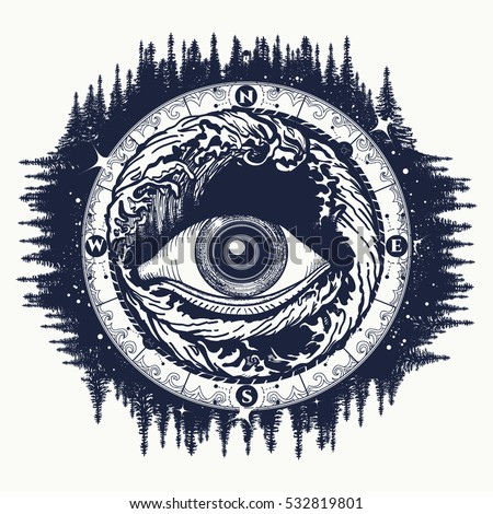 all seeing eye tattoo  tourism