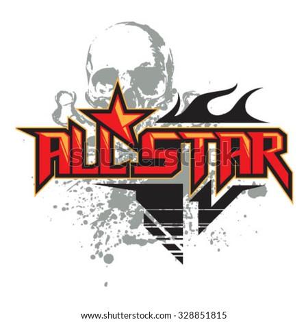 all star skull