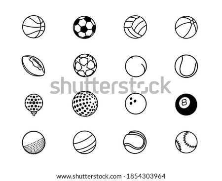 all types of game balls for all
