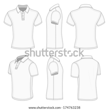 Front And Back Polo Shirt Free Vector Download 1809 For Commercial Use Format Ai Eps Cdr Svg Illustration Graphic Art Design
