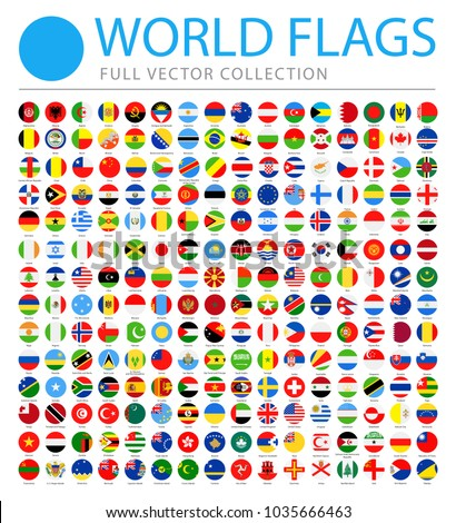 all world flags set   new