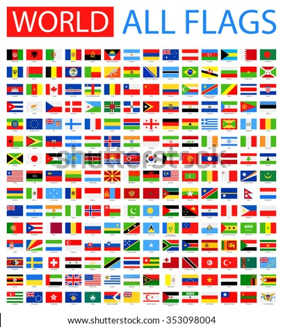 all world vector flags   vector