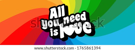 All you need is love Stock photo ©