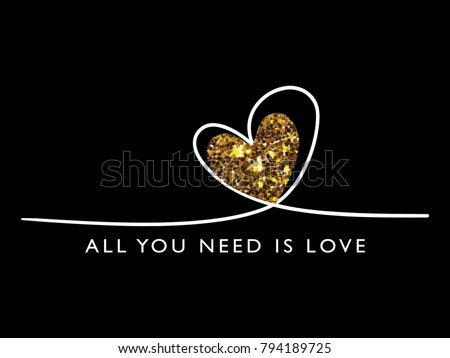 all you need is love quote with
