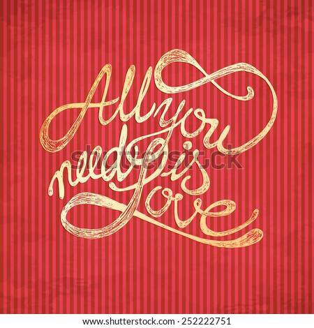 all you need is love quotes on