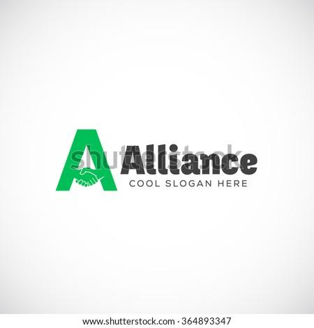 alliance abstract vector logo